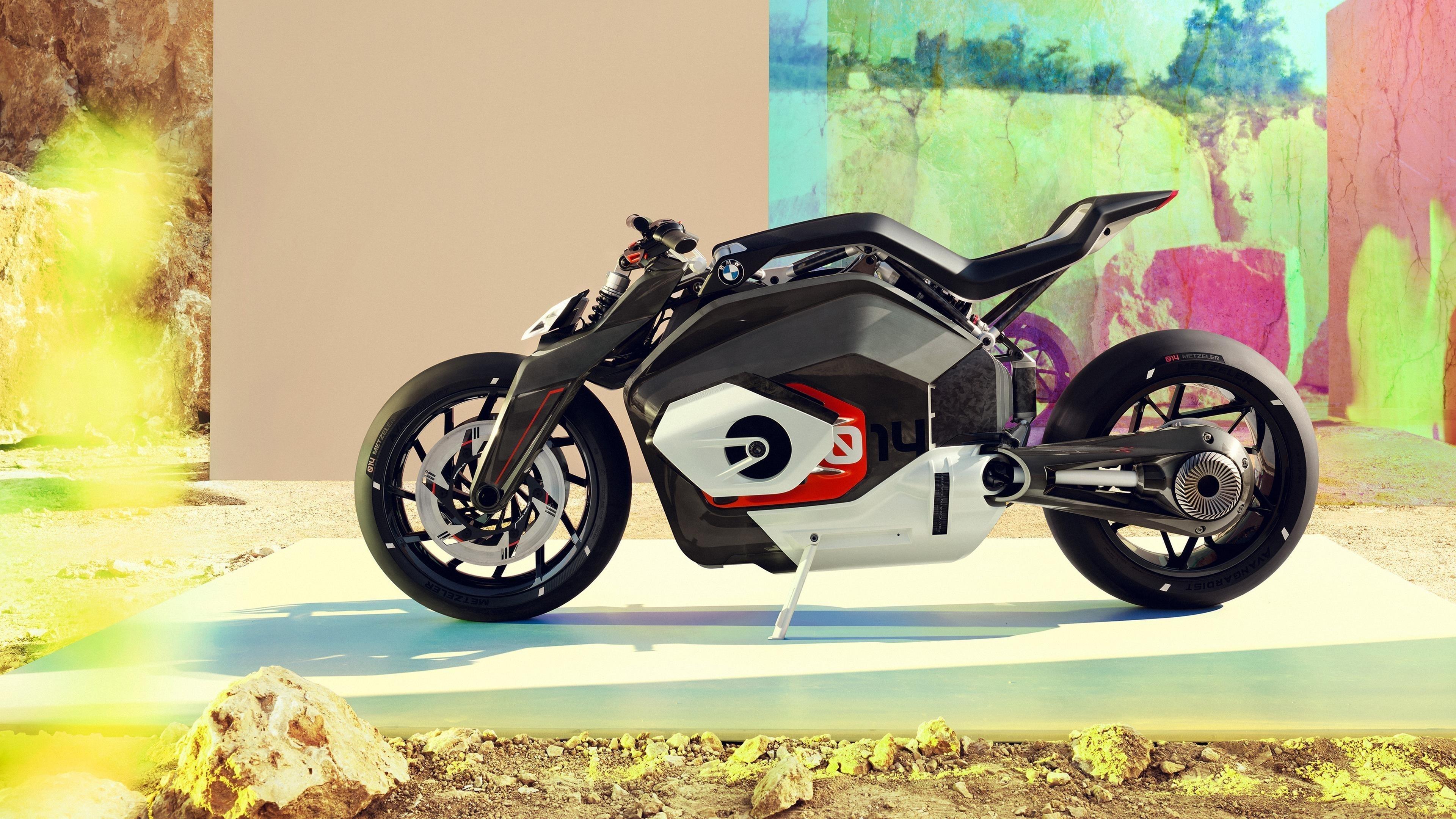 BMW motorrad vision dc родстер 2019 обои скачать