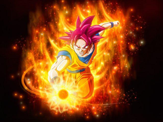 Супер Саян Бог дракон мяч супер супер супер