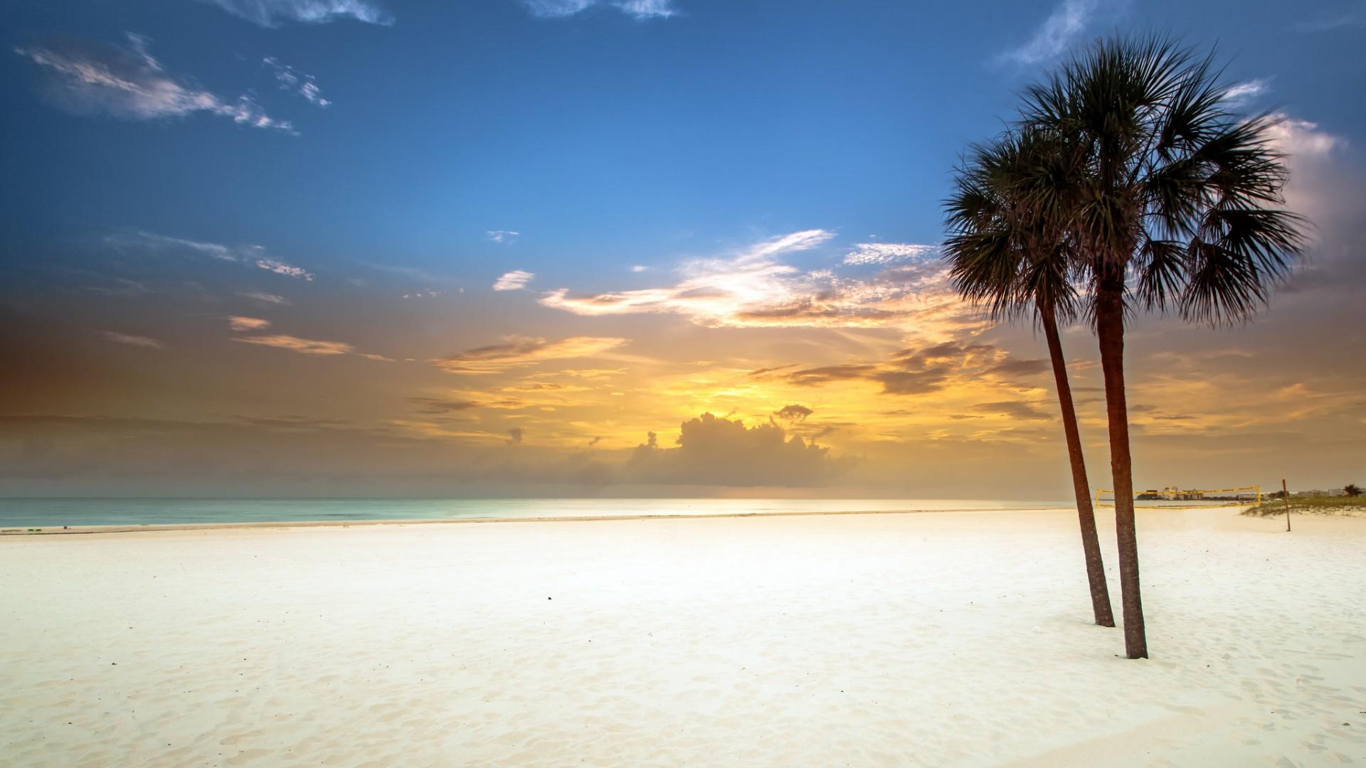 Залив, пляж, песок, белый обои скачать
