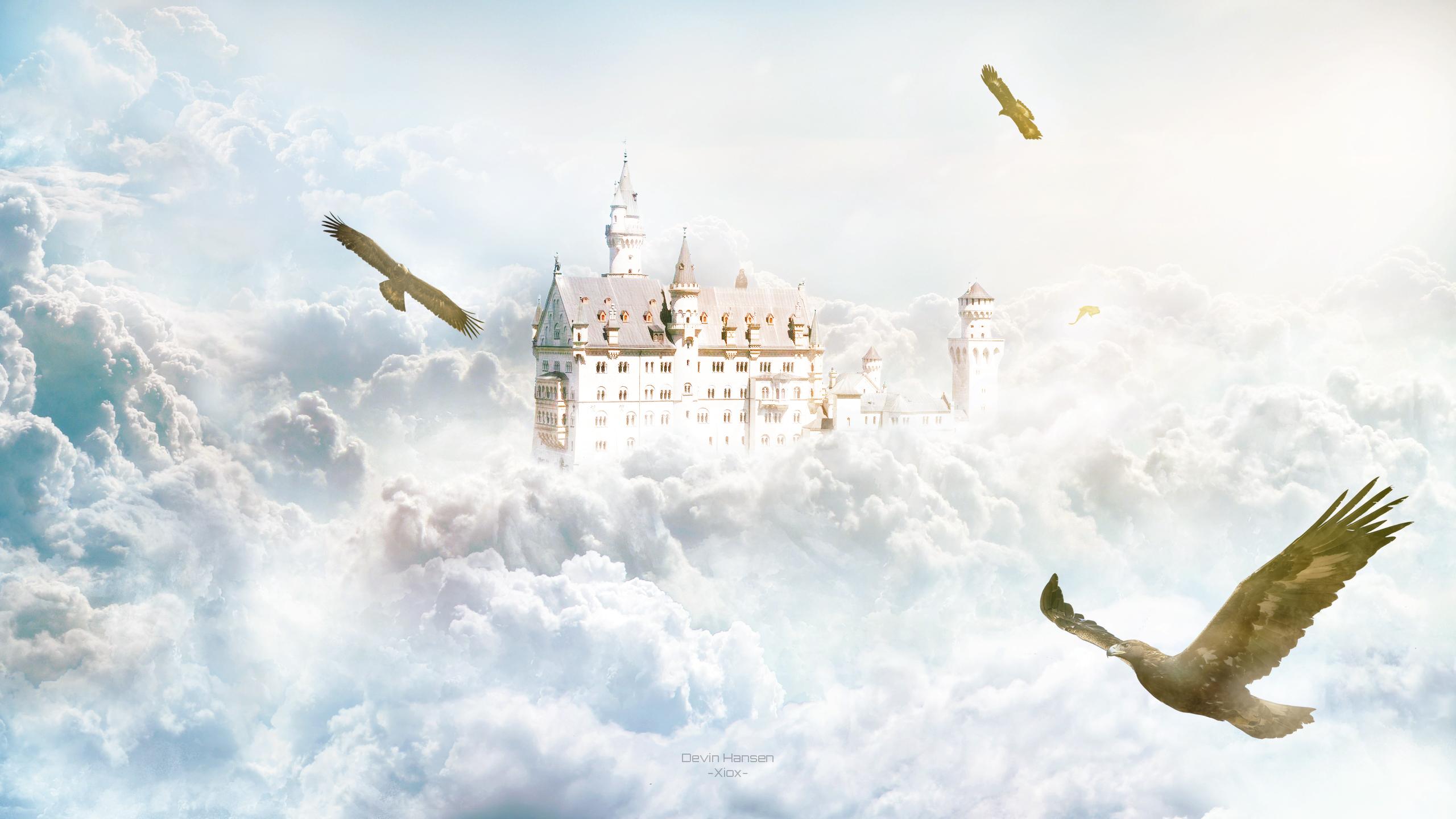 Замок Орлов обои скачать