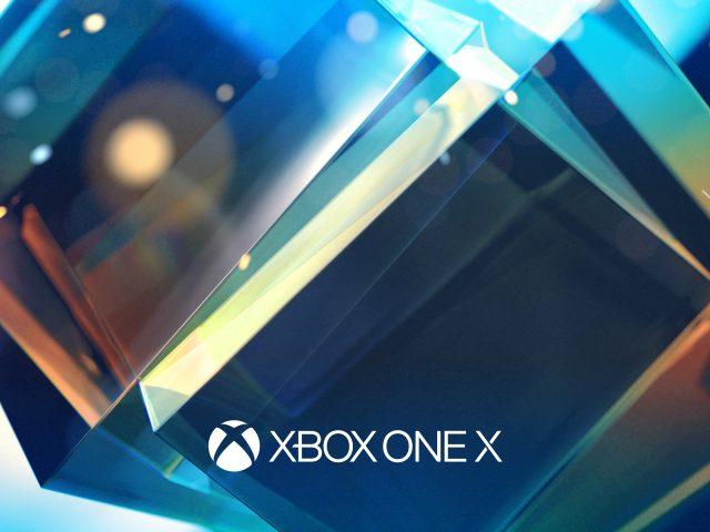 Xbox один х Е3.