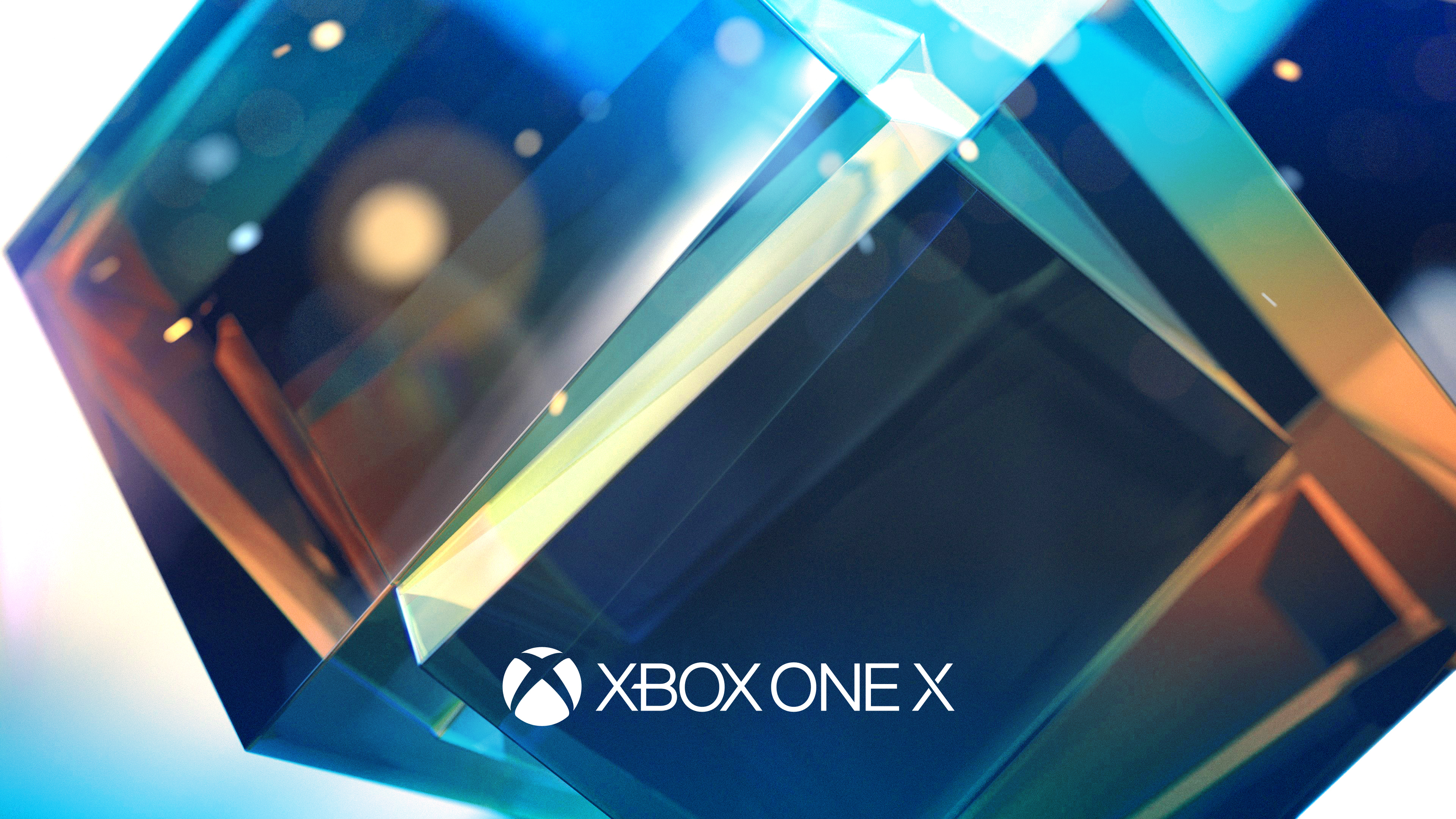 Xbox один х Е3. обои скачать