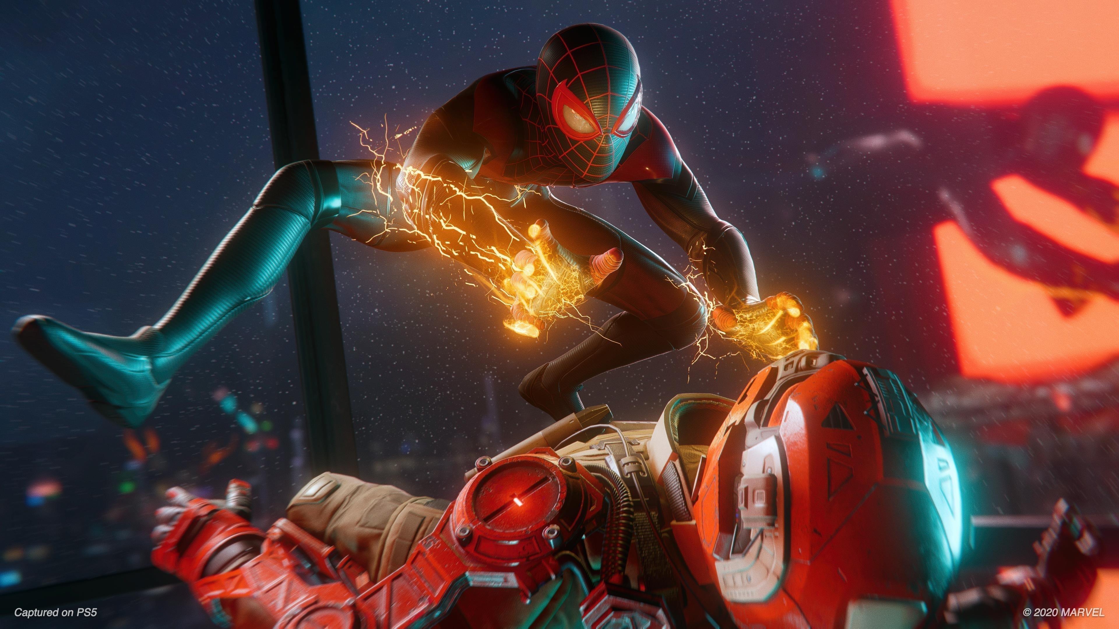 Человек-паук marvel Майлз Моралес обои скачать