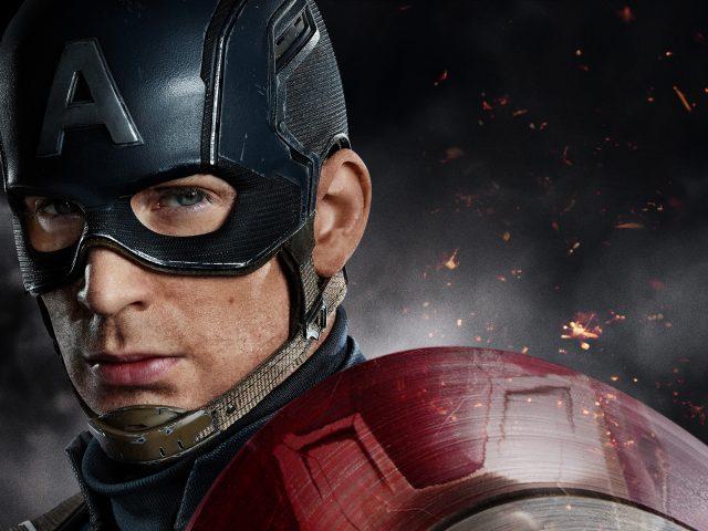 Капитан Америка гражданская война Крис Эванс.