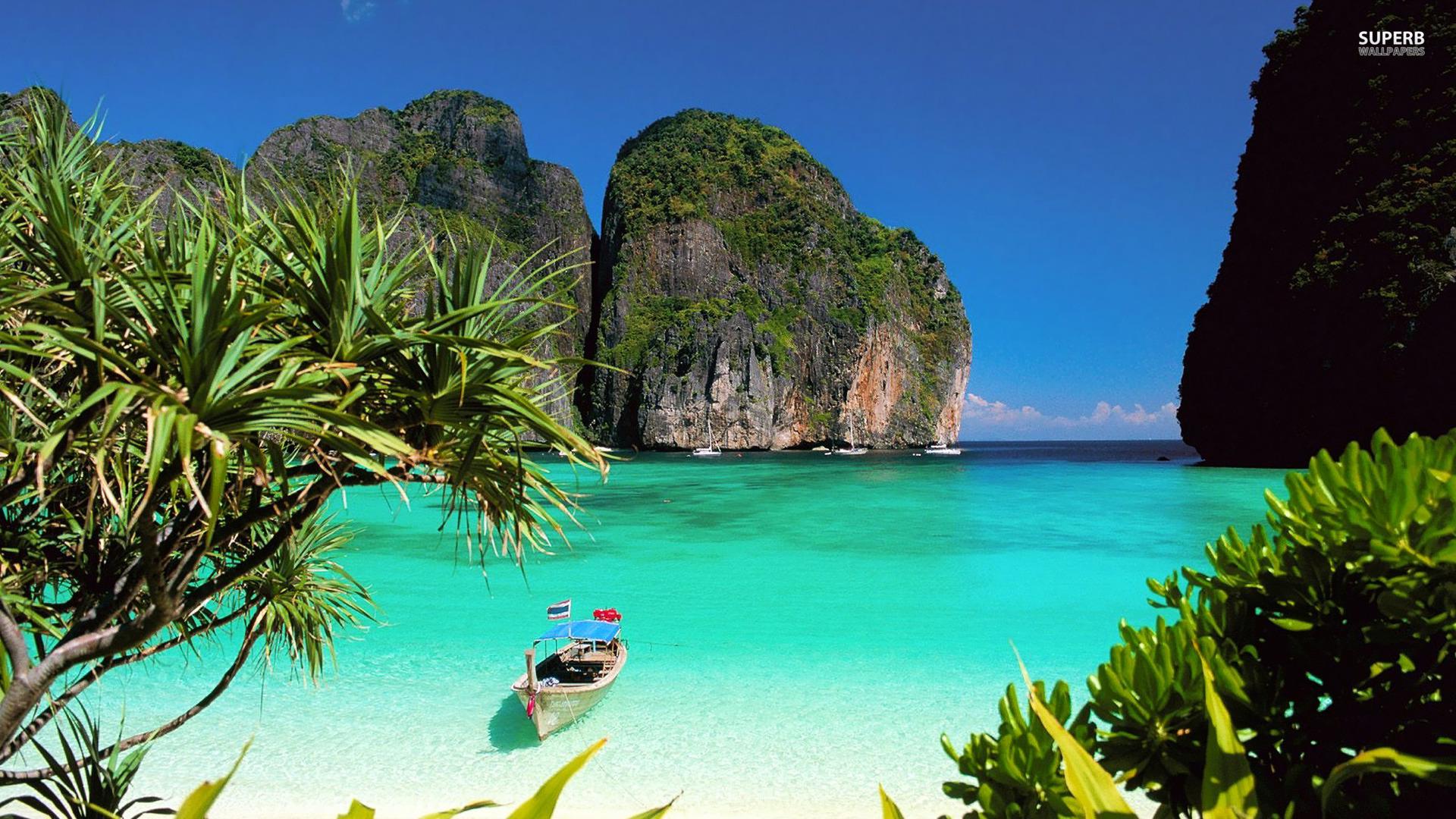 Пляж Тао в Тайланде обои скачать