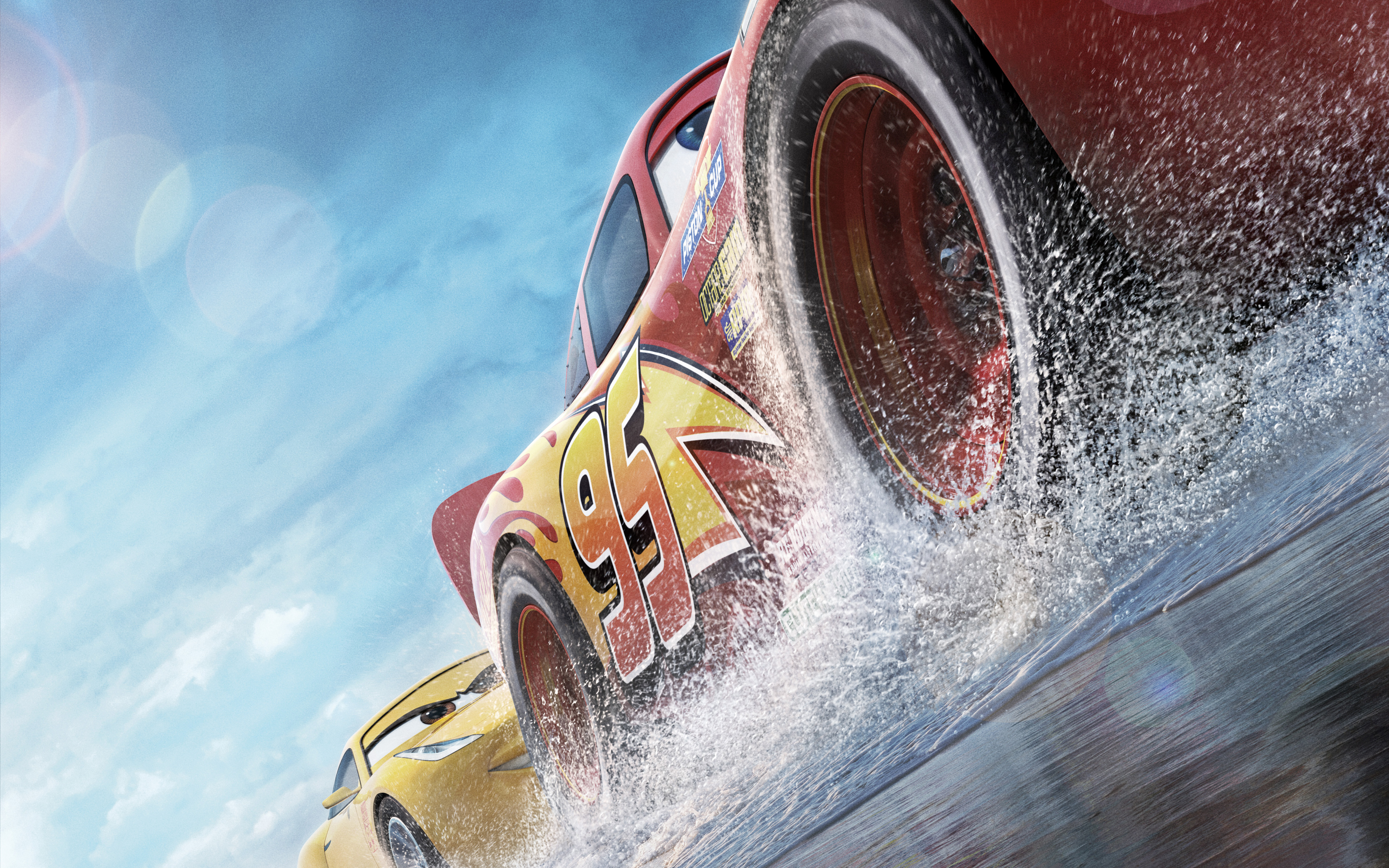 Cars 3 pixar animation. обои скачать