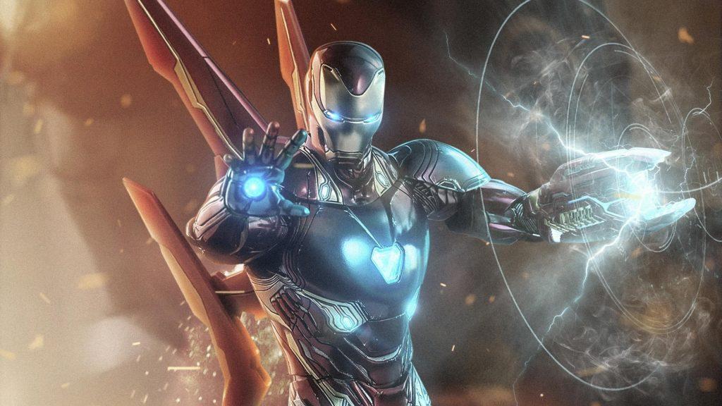 Железный человек в Мстителях 4 обои скачать