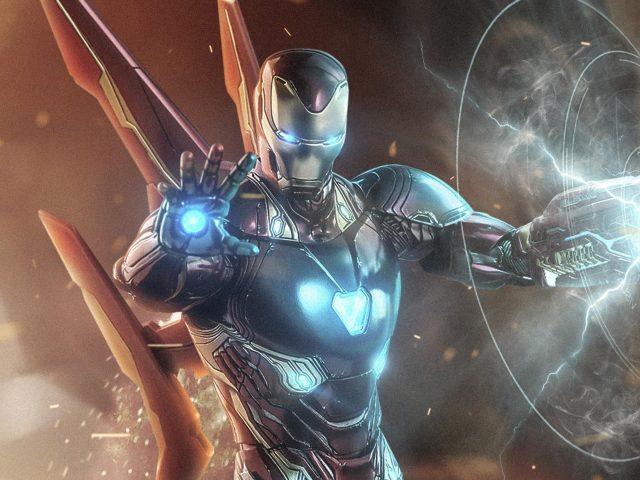 Железный человек в Мстителях 4