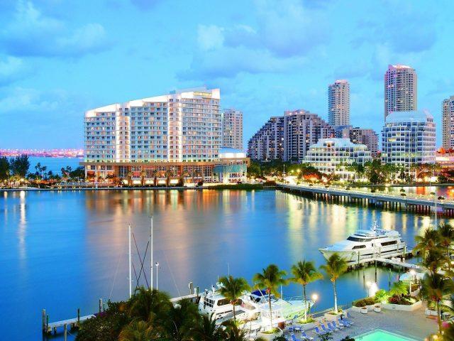 Пляж Майами Флорида