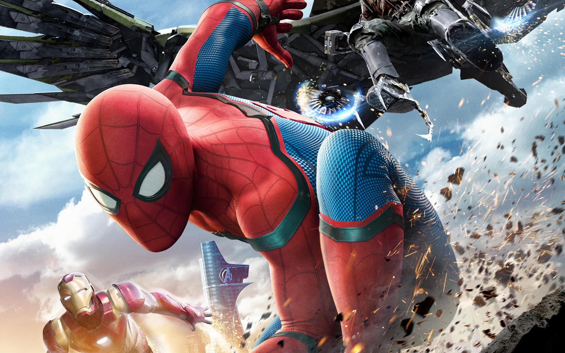 Человек паук возвращение в HD. обои скачать