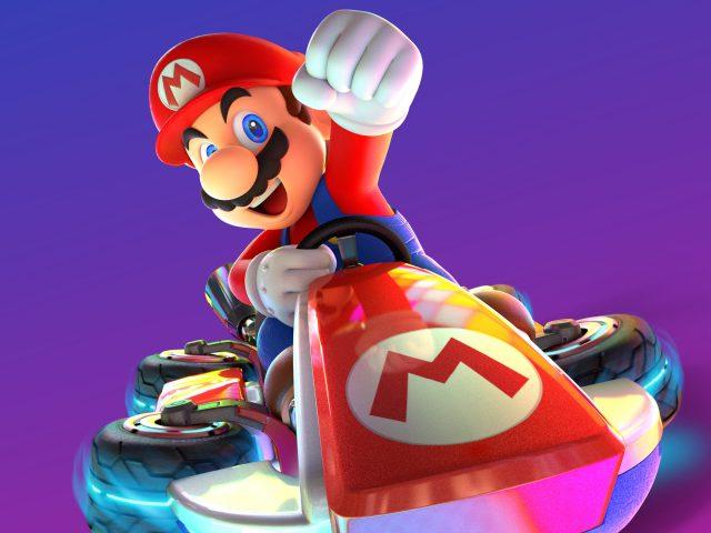 Марио Kart 8 Делюкс.