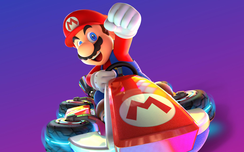 Марио Kart 8 Делюкс. обои скачать