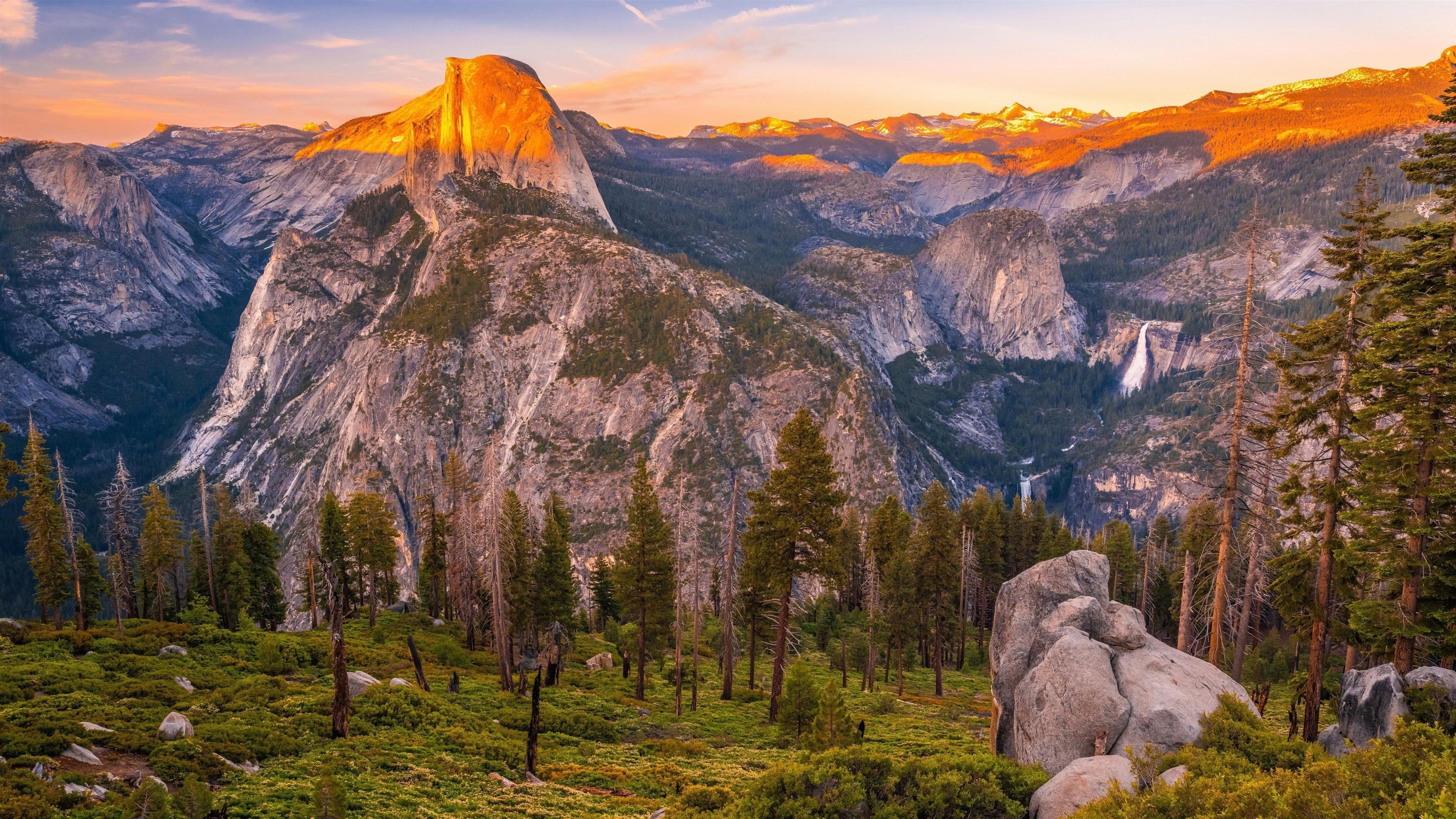 Йосемитский национальный парк обои скачать
