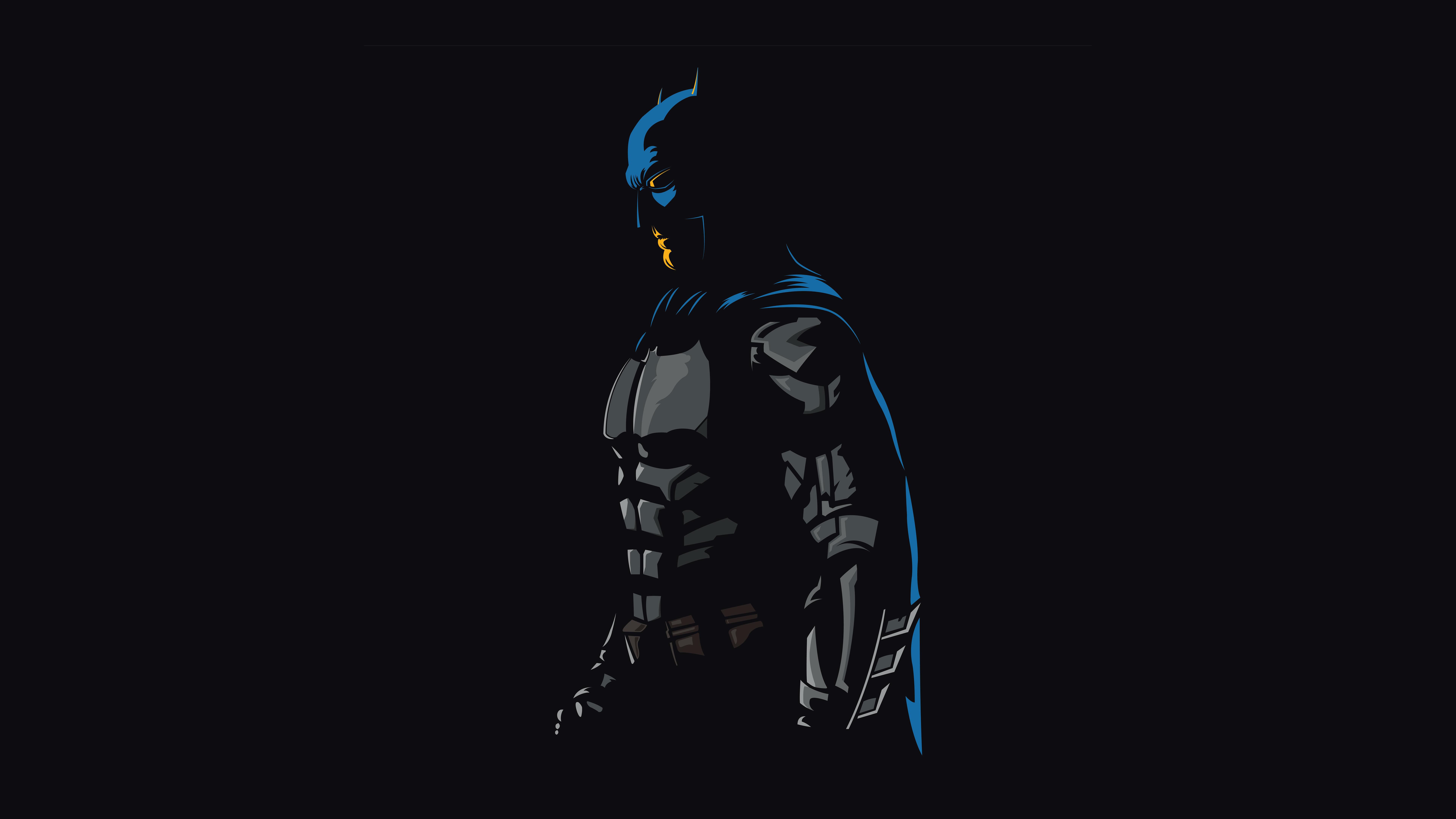Минимальные художественные работы batman обои скачать