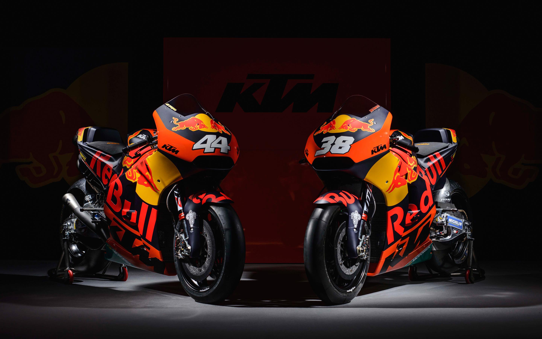 Ktm rc16 motogp race bikes. обои скачать