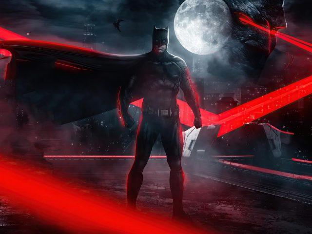 Бэтмен из Лиги Справедливости Зака Снайдера