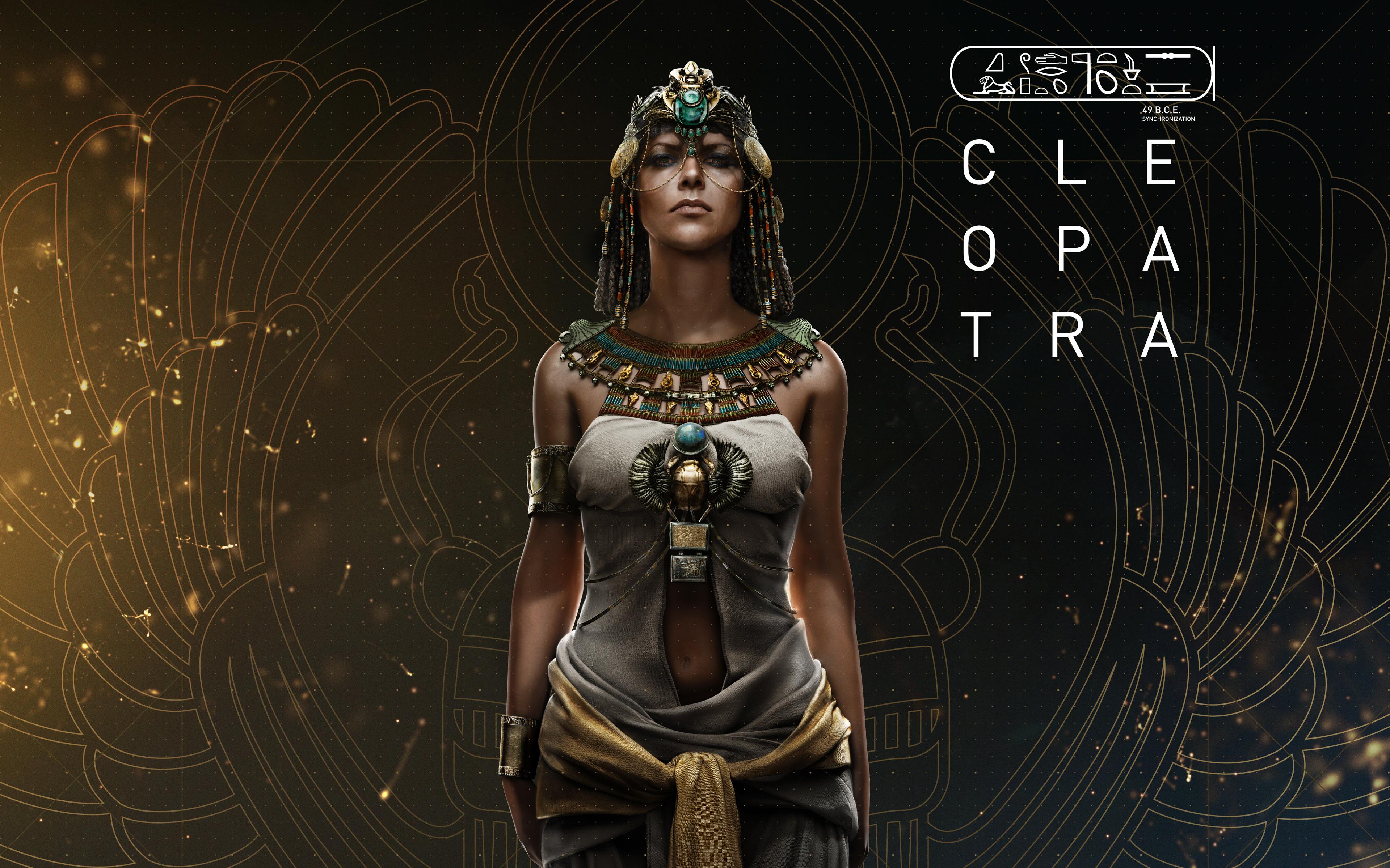 Клеопатра ассассинс Крид происхождение обои скачать