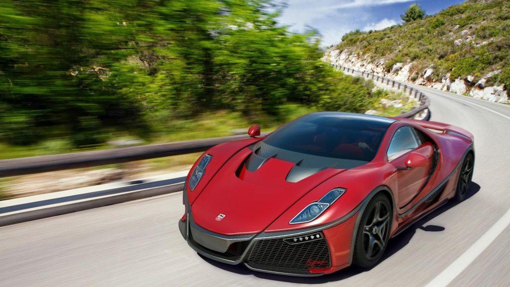 Красный спаяния гта спортивный автомобиль автомобили Спано обои скачать