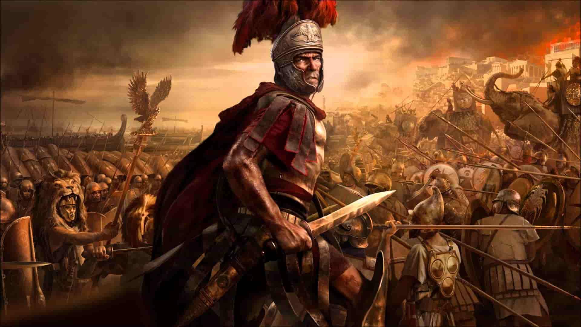 Войска из игры rome total war обои скачать