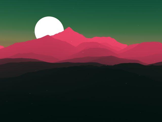 Moon sun минимальное произведение искусства