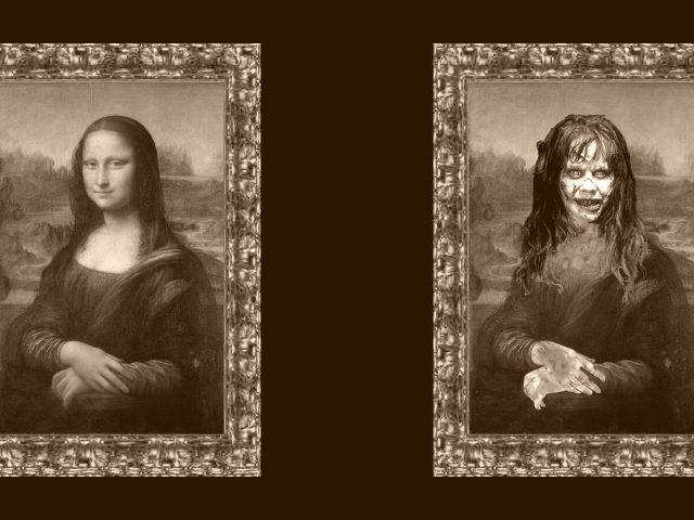 Мона Лиза и Зомби Лиза