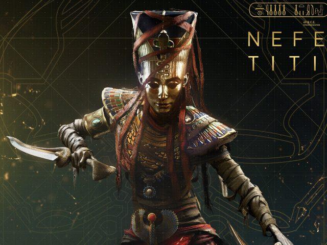 Assassins creed происхождение Нефертити