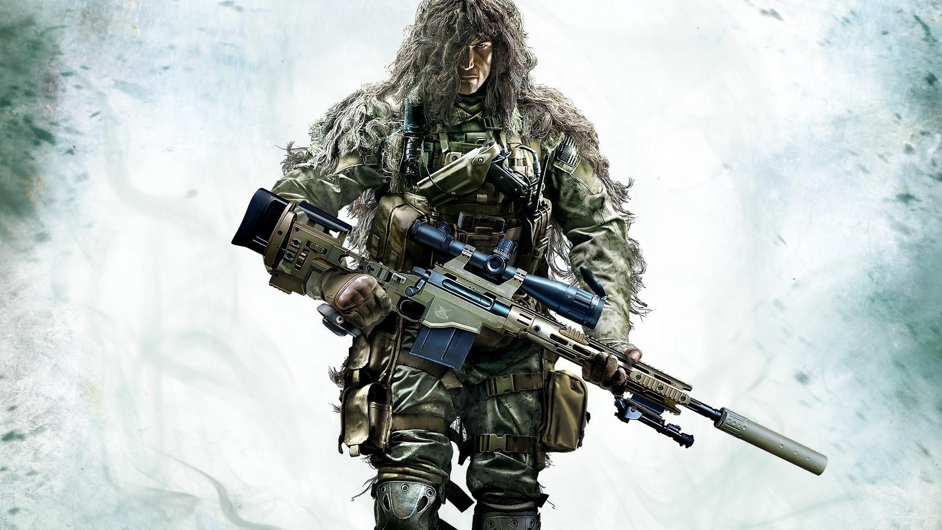 Из игры Sniper: Ghost Warrior 2 бойца в комуфляже обои скачать