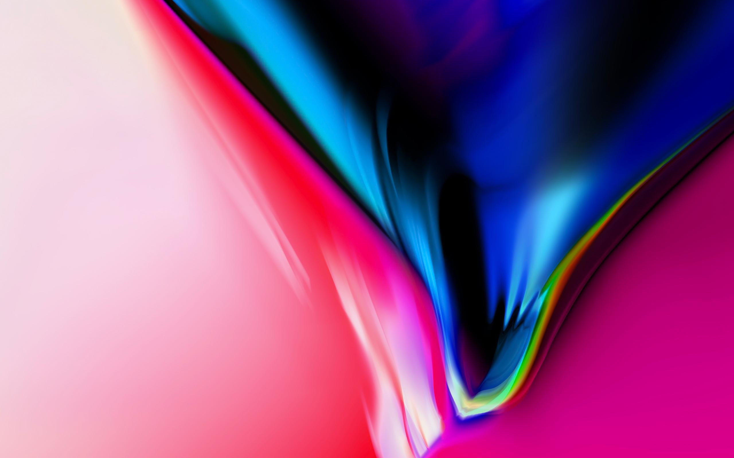 Aura черный гранит IOS 11 iPhone х складе обои скачать