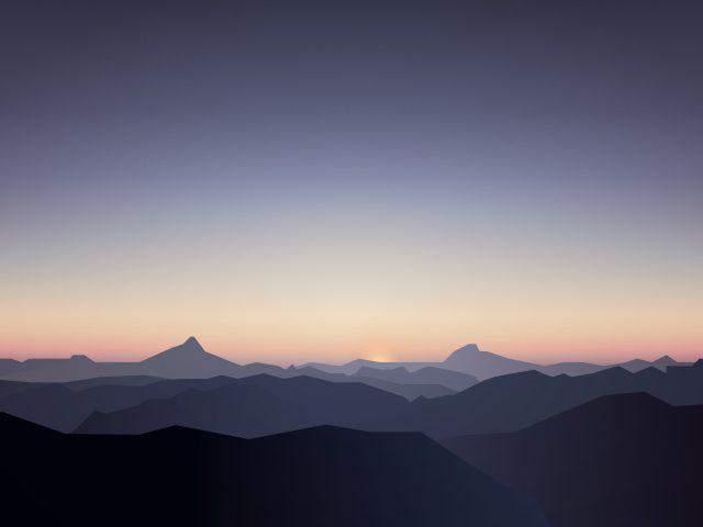 Тихие горы