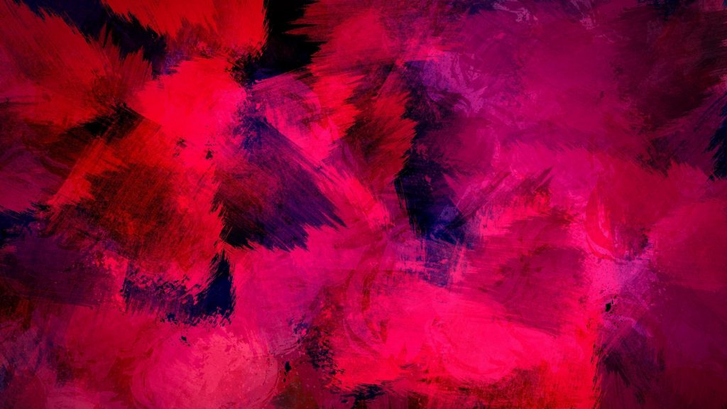 Розовые фигуры живопись абстракция обои скачать