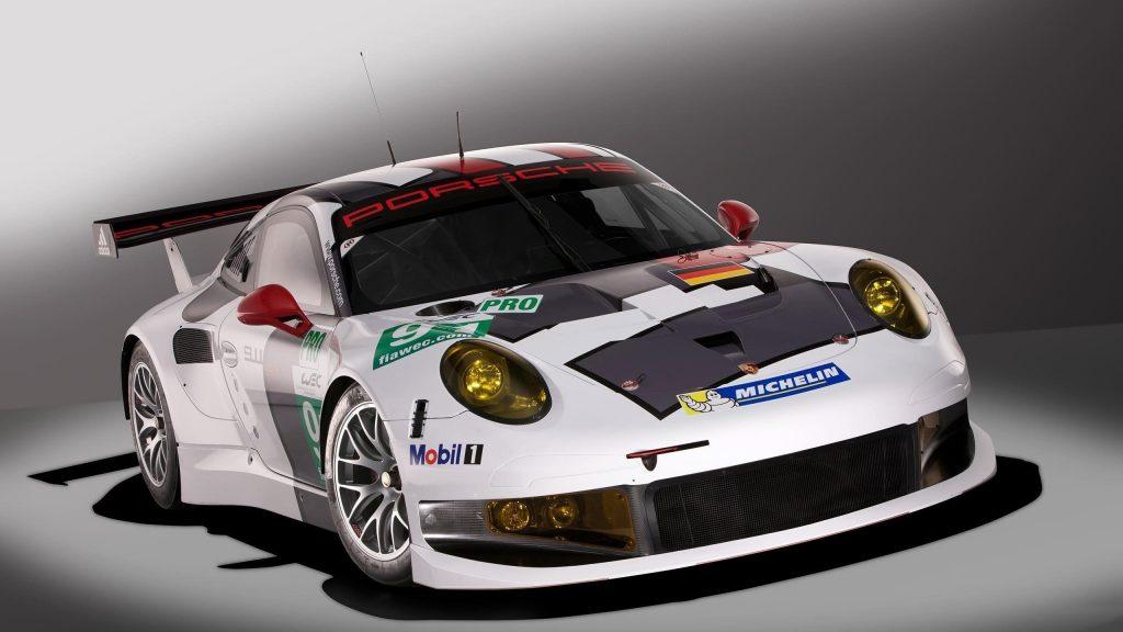 Porsche 911 rsr гоночный автомобиль автомобили обои скачать