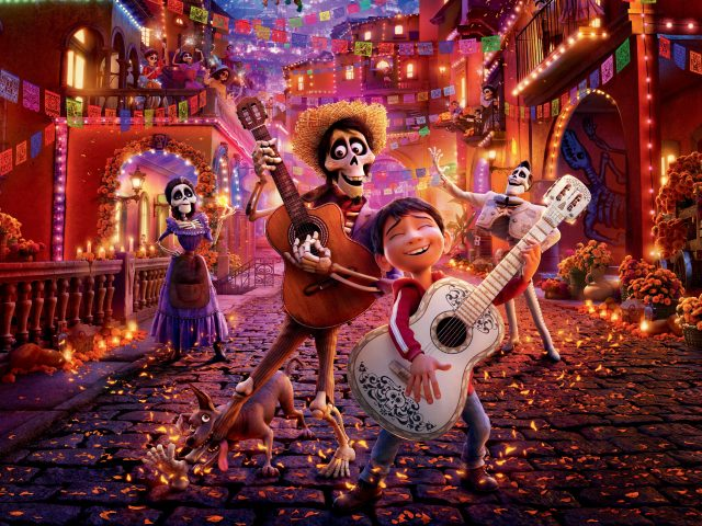 Анимация Coco Pixar