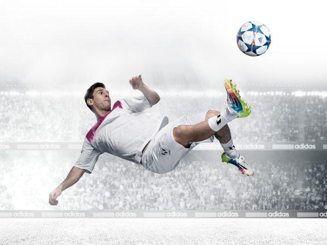 Лионель Месси в футболе.
