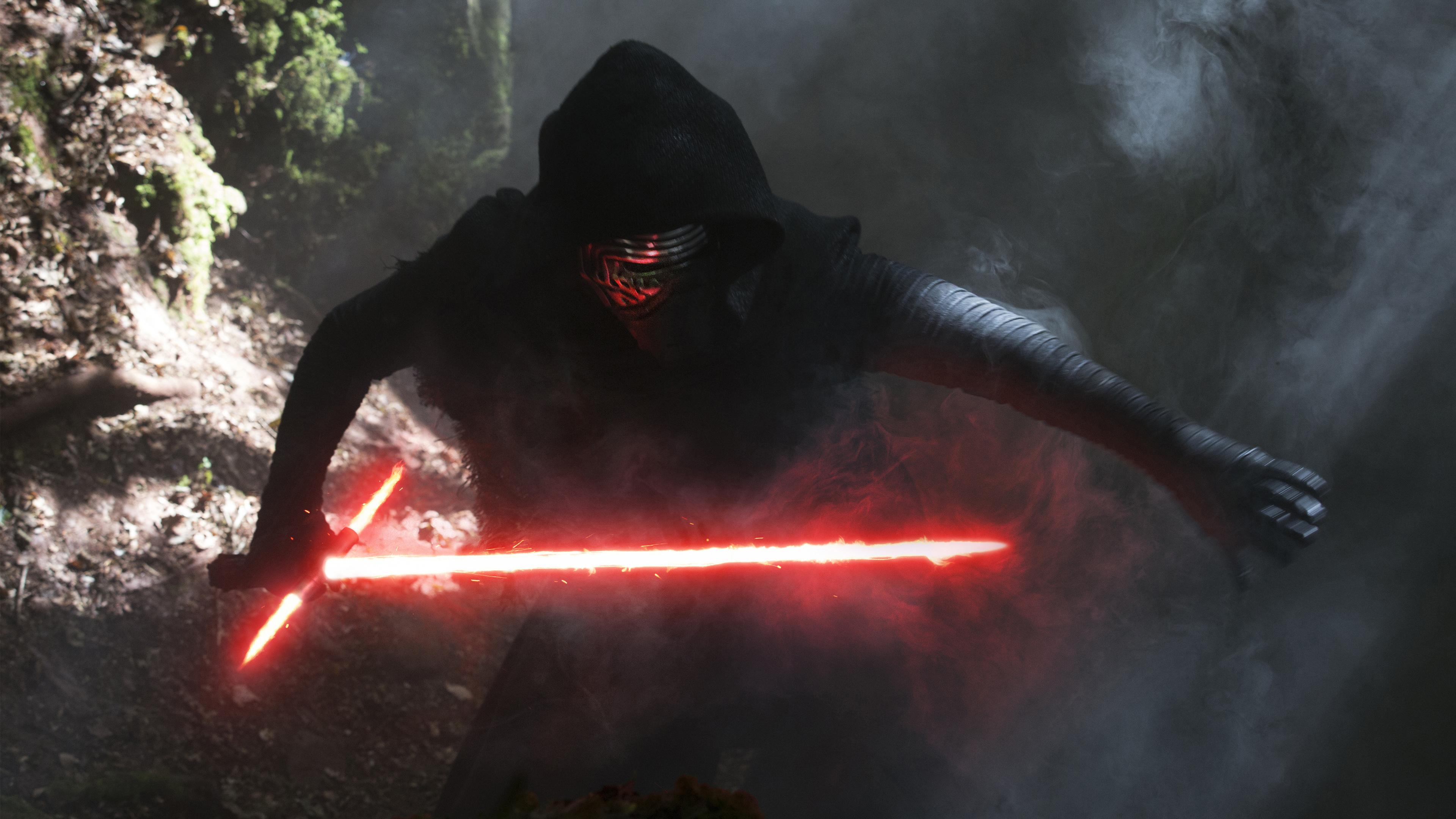 Кайло-kylo РЕН Звездные войны пробуждение силы обои скачать