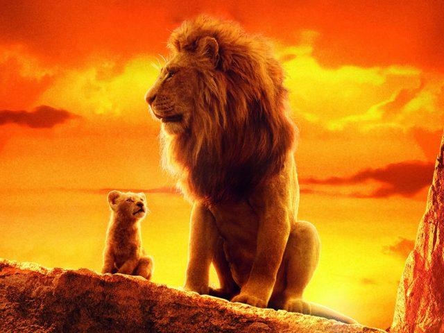 Король лев Симба Муфаса