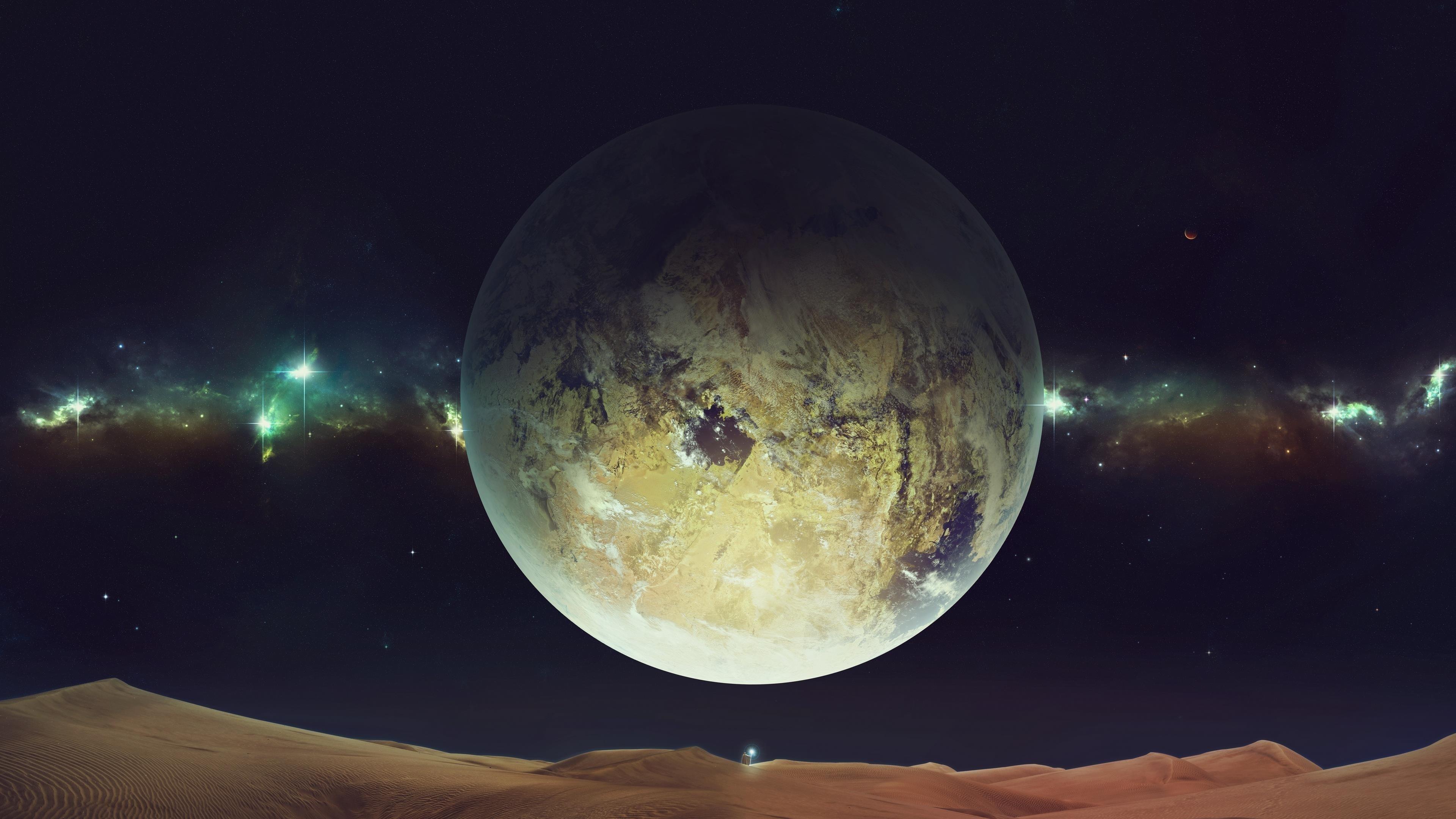 Планета крупным планом обои скачать