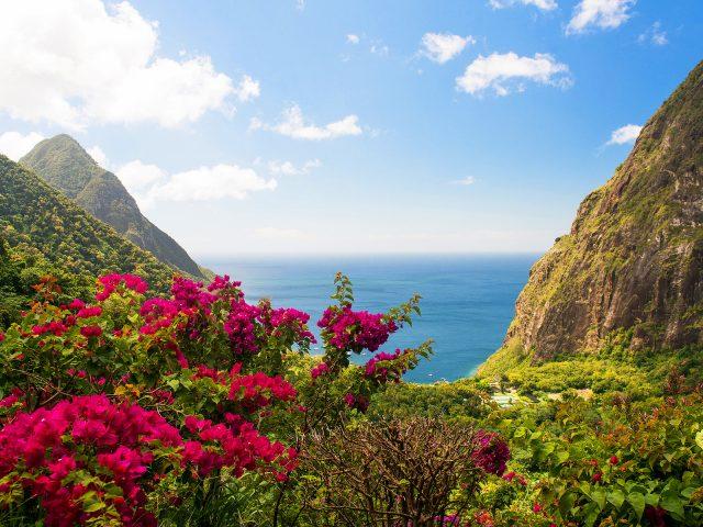 Индия остров горный пейзаж.