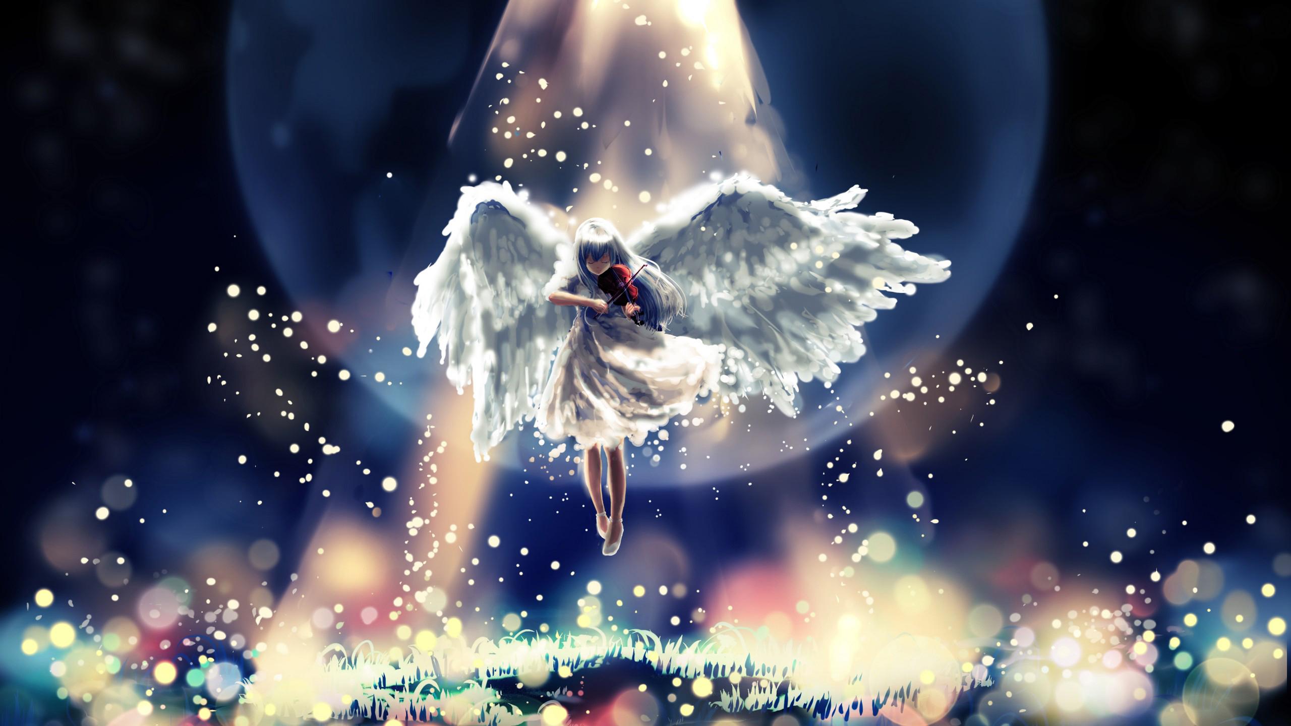 Ангел аниме обои скачать