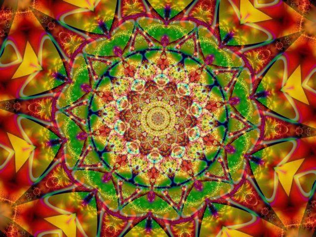 Красочные фрактальные формы tumblr абстракция абстракция
