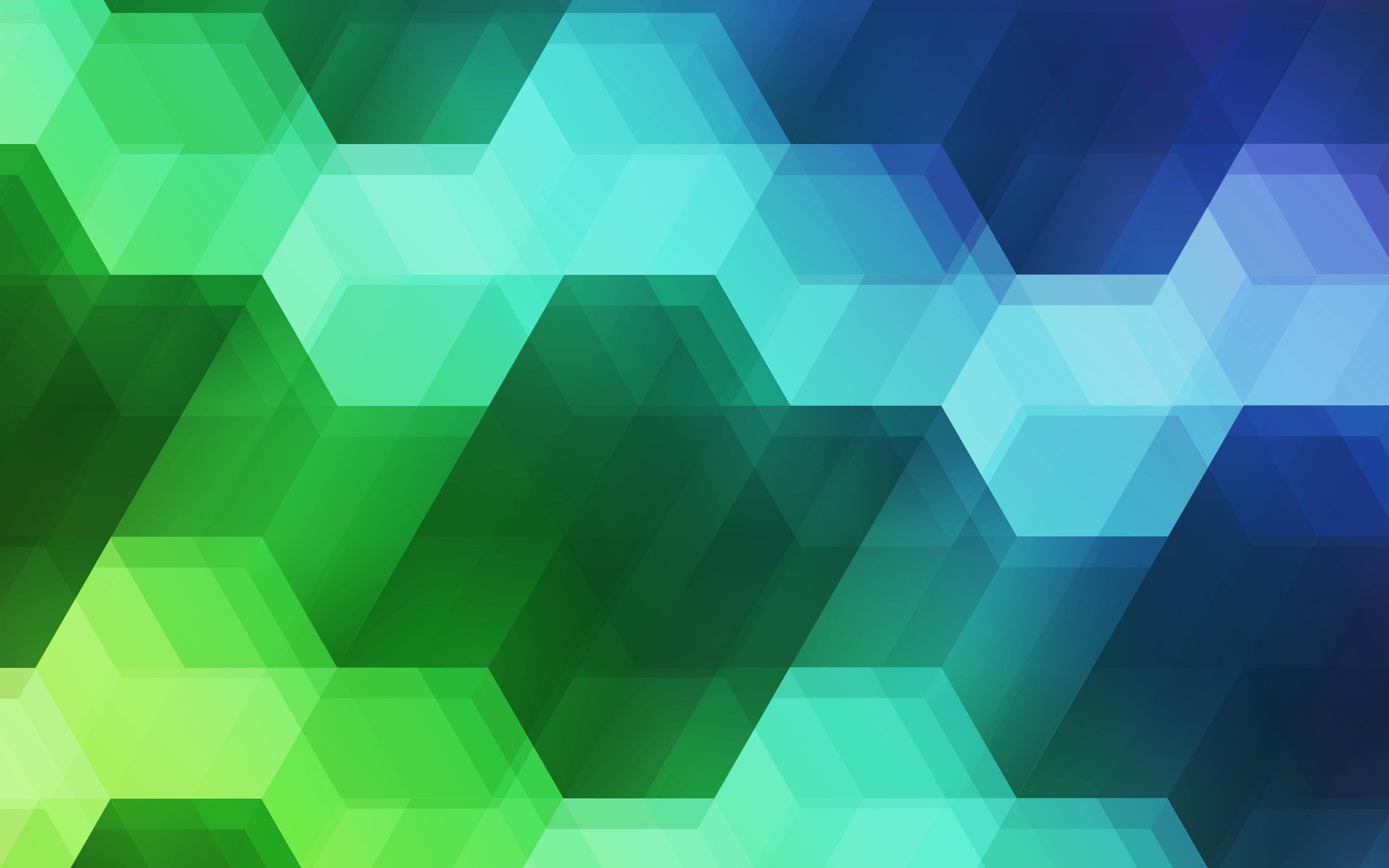 Спектр шестиугольника обои скачать