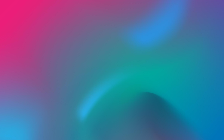 Розовый голубой градиент обои скачать