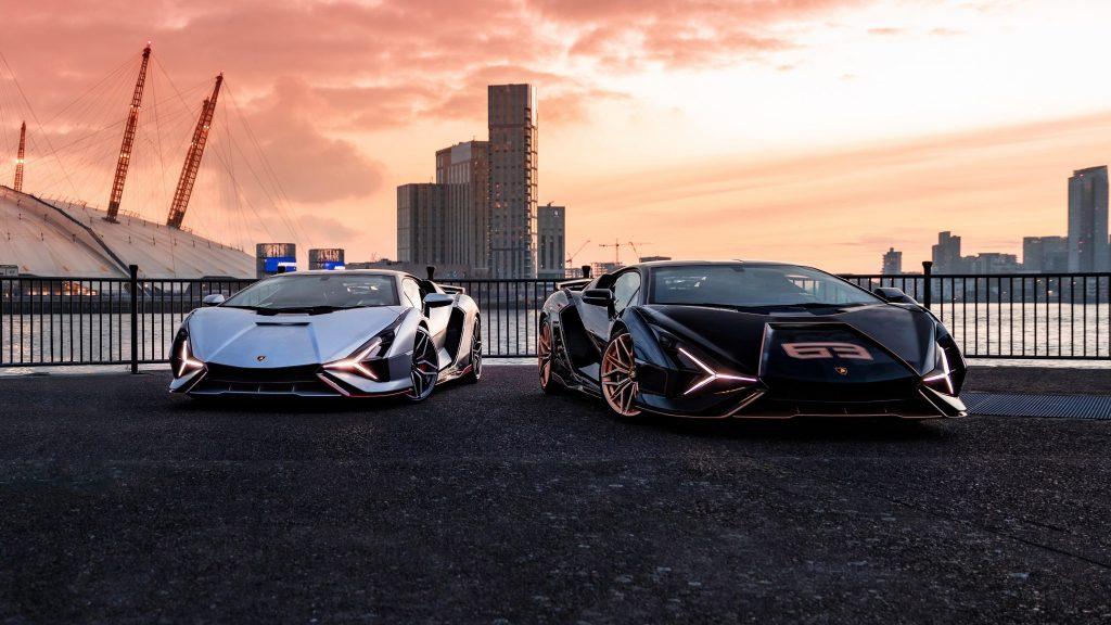 Lamborghini sian fkp 37 2021 автомобили обои скачать