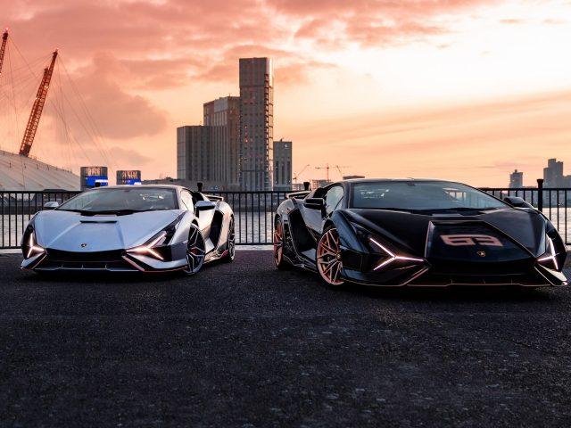 Lamborghini sian fkp 37 2021 автомобили