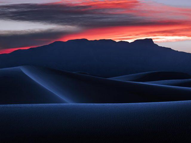 Пустыня дюны пейзаж природа песок закат природа