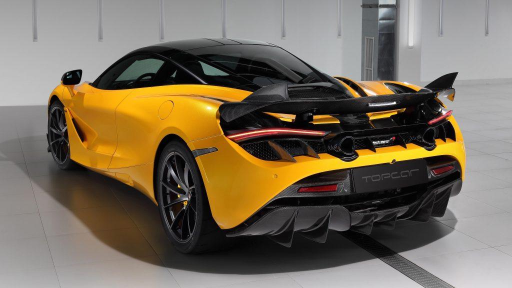 Топовый автомобиль mclaren 720s fury 2021 4 автомобиля обои скачать