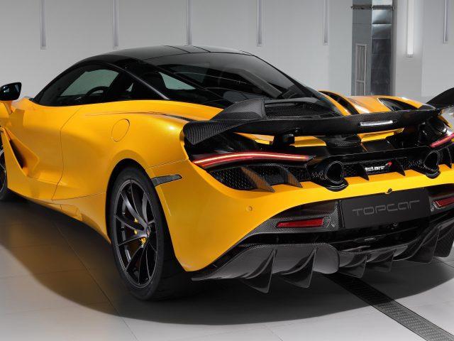 Топовый автомобиль mclaren 720s fury 2021 4 автомобиля