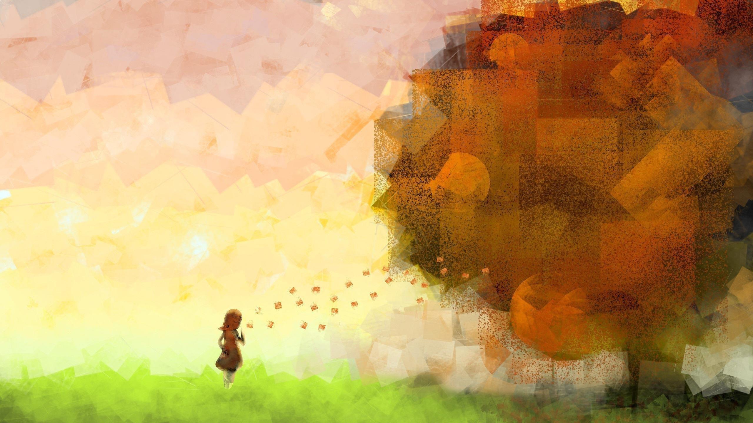 Осенняя фантазия обои скачать