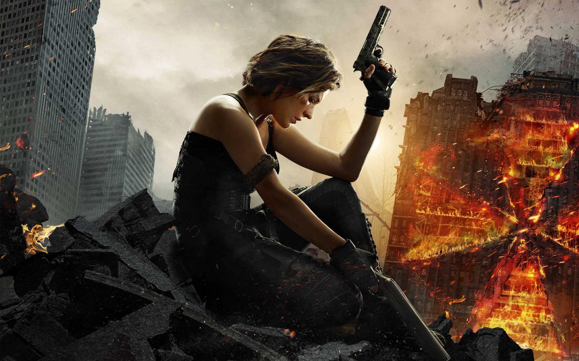 Resident Evil 6 The Final Chapter обои скачать