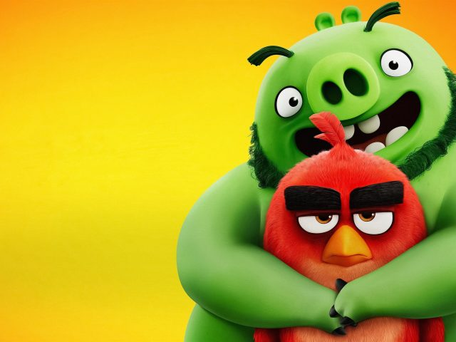 Сердитые птицы 2 Красный & Леонард