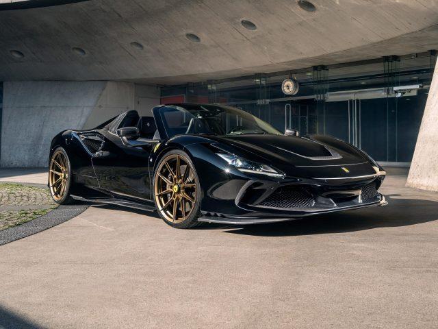 Автомобили novitec ferrari f8 spider 2021